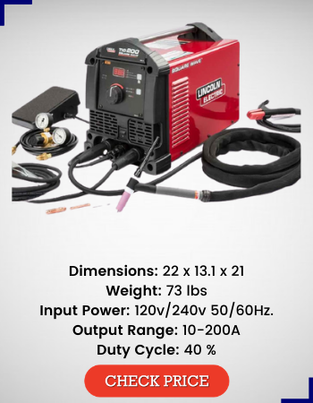 Lincoln Electric Square Wave TIG 200 TIG Welder, K5126-1 review