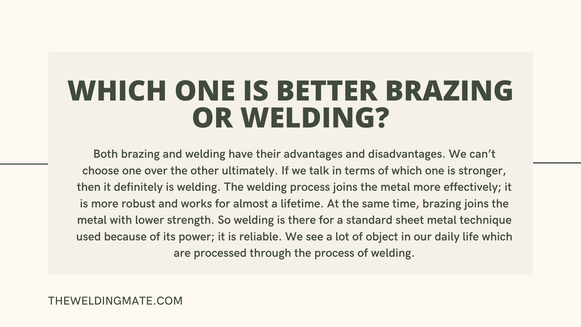 Difference Between Welding And Brazing1