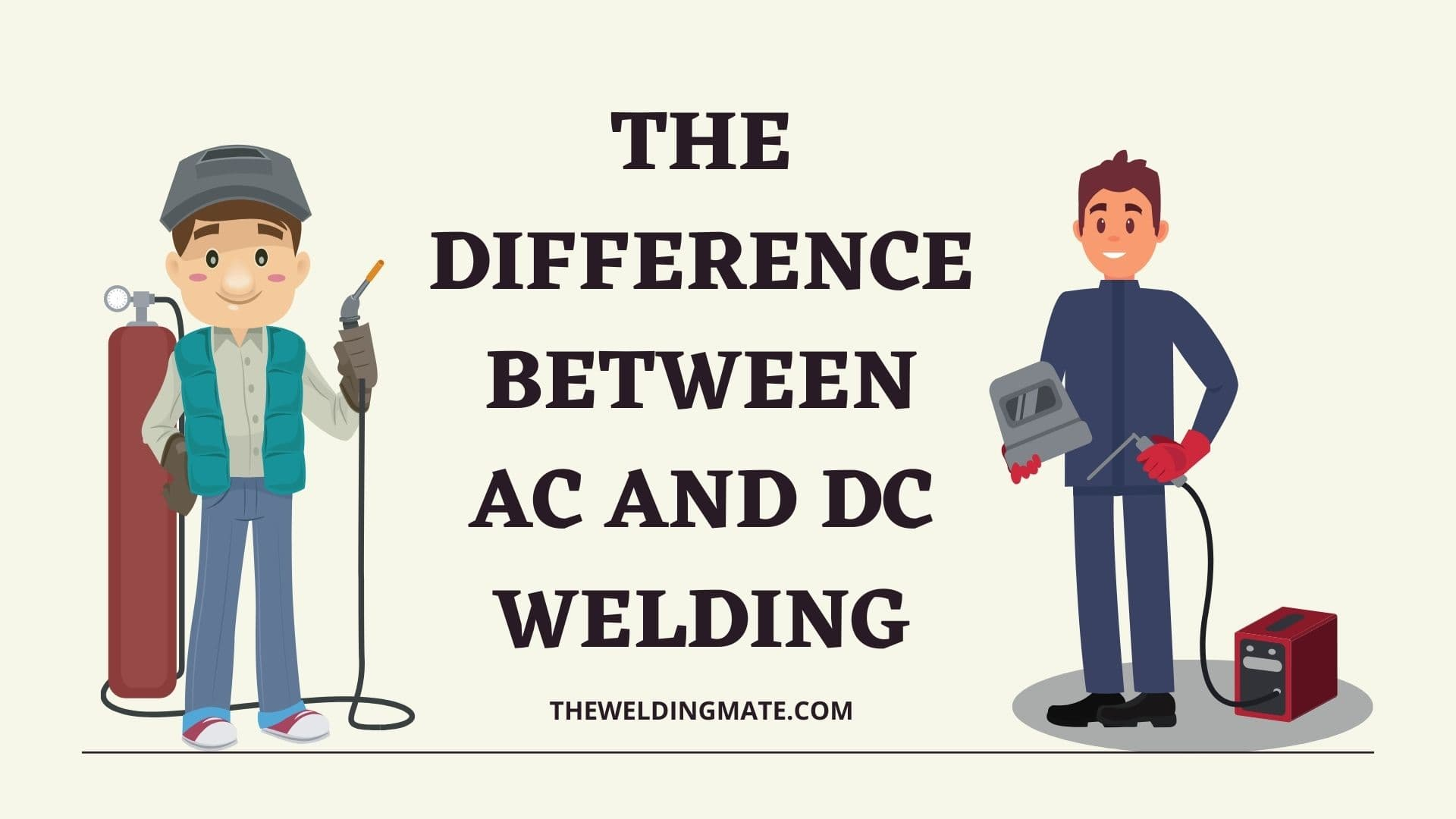 the Difference Between AC and DC Welding