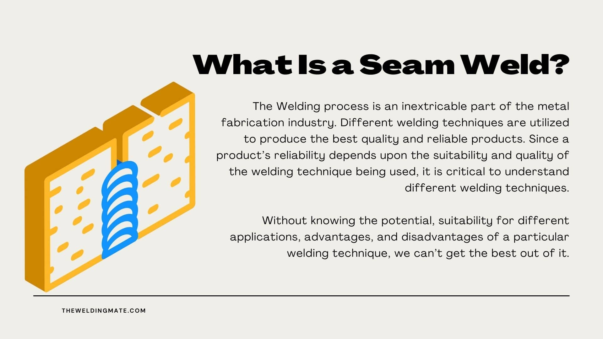 What Is a Seam Weld